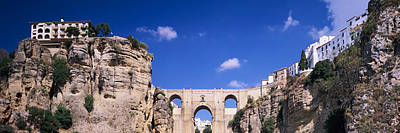 Ronda Photograph - Puente Nuevo Bridge Above The Gorge by Panoramic Images