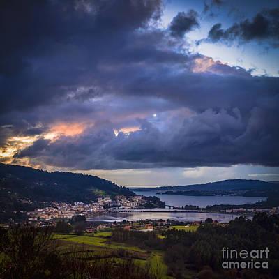 Photograph - Puentedeume From Cabria Noguerosa Galicia Spain by Pablo Avanzini