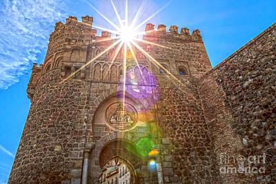 Puerta Del Cambron Art Print