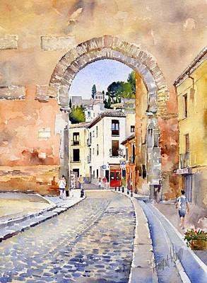 Puerta Elvira Art Print by Margaret Merry