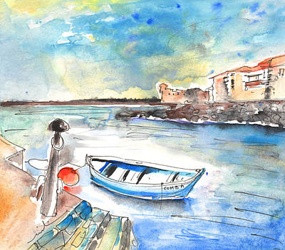 Painting - Puerto De La Cruz 02 by Miki De Goodaboom