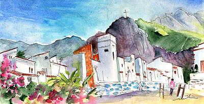 Painting - Puerto De Las Nieves 02 by Miki De Goodaboom