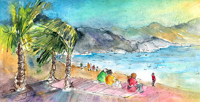 Painting - Puerto De Las Nieves 04 by Miki De Goodaboom