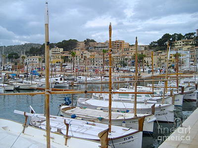 Photograph - Puerto De Soller  by Suzanne Oesterling