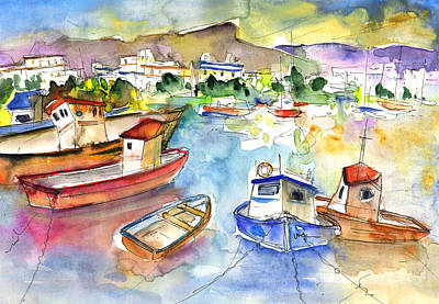 Painting - Puerto Mogan 01 by Miki De Goodaboom