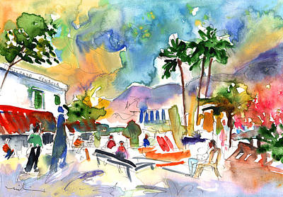 Painting - Puerto Mogan 05 by Miki De Goodaboom