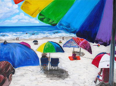 Melissa Torres Painting - Puerto Rico Beach by Melissa Torres