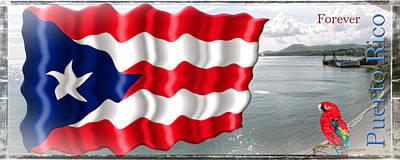 Puerto Rico Forever Original by Francisco Colon