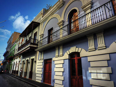 Photograph - Puerto Rico - Old San Juan 002 by Lance Vaughn