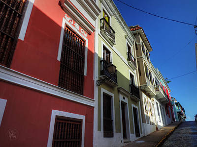 Photograph - Puerto Rico - Old San Juan 007 by Lance Vaughn