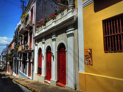 Photograph - Puerto Rico - Old San Juan 011 by Lance Vaughn