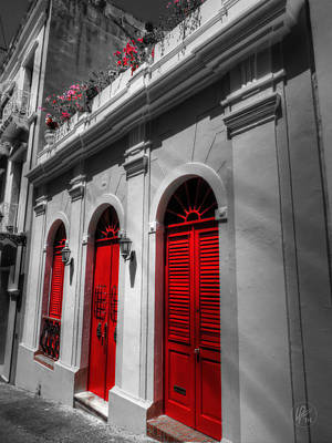 Photograph - Puerto Rico - Old San Juan 012 by Lance Vaughn