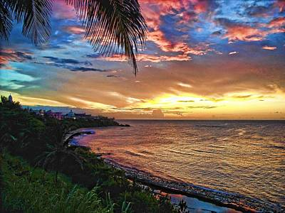 Photograph - Puerto Rico Sunset by Daniel Sheldon