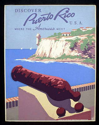 Puerto Rico Usa Art Print by Unknown