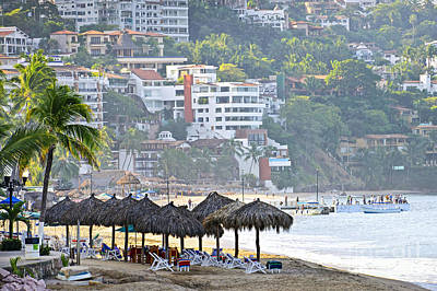 Photograph - Puerto Vallarta Early Morning by Elena Elisseeva