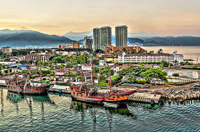 Photograph - Puerto Vallarta by Maria Coulson