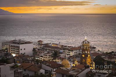 Mexico Photograph - Puerto Vallarta Sunset by Andre Babiak