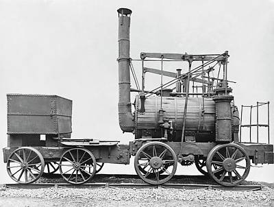 Puffing Billy Locomotive Art Print