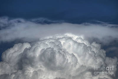 Photograph - Puffy Clouds by D Wallace