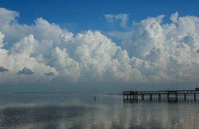 Photograph - Puffy Clouds by Jane Luxton