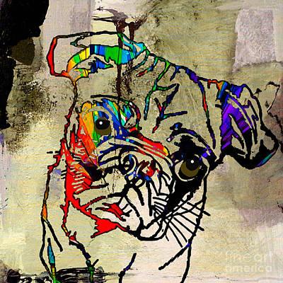 Pug Mixed Media - Pug Smug by Marvin Blaine