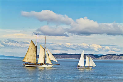 Photograph - Puget Sound 1 by Patrick M Lynch