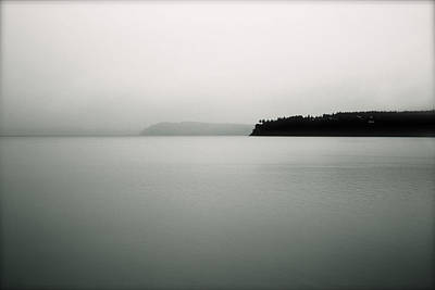 Photograph - Puget Sound Blue by Kandy Hurley