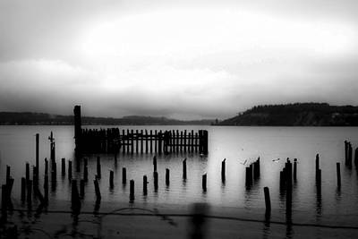 Photograph - Puget Sound Cold Morning by Kandy Hurley