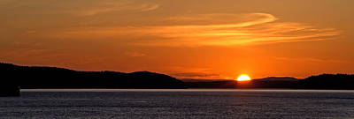 Photograph - Puget Sound Sunset - Washington by Brian Harig