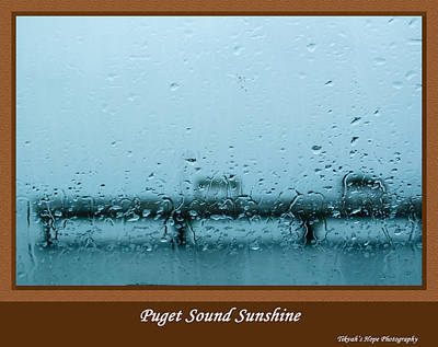 Photograph - Puget Sound Sunshine by Tikvah's Hope