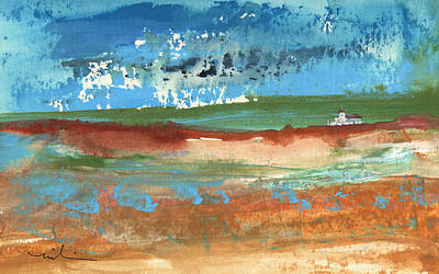 South Of France Painting - Puicheric 03 by Miki De Goodaboom
