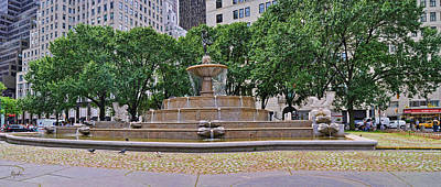 Photograph - Pulitzer Fountain by Paulette B Wright
