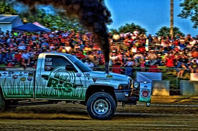 Photograph - Pull N Wool Pulling Truck by Tim McCullough