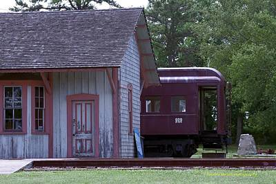 Photograph - Pulling Into Station by Nance Larson