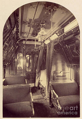 Photograph - Pullman Palace Sleeping Car 1870 by Getty Research Institute