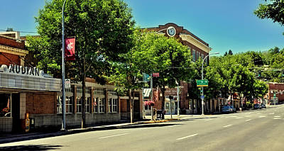 Photograph - Pullman Washington - The Downtown by David Patterson