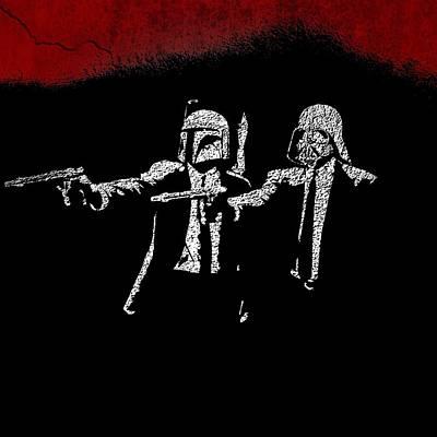 Pulp Painting - Pulp Wars by David Kadwell