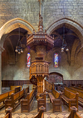 Photograph - Pulpit by Charles Lupica