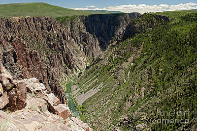 Photograph - Pulpit Rock Overlook Black Canyon Of The Gunnison by Fred Stearns