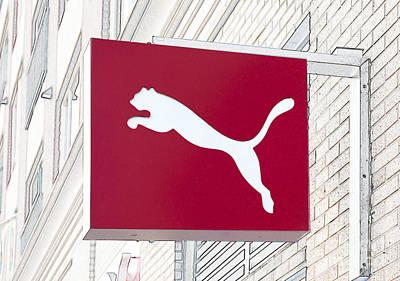 Photograph - Puma Sign by Liz Leyden