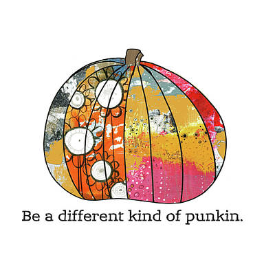 Pumpkins Painting - Pumkin by Sarah Ogren