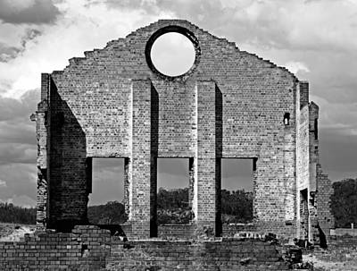 Photograph - Pump House Southern View by Nicholas Blackwell