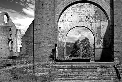 Photograph - Pump House Western View by Nicholas Blackwell