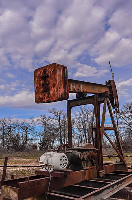 Photograph - Pump Jack by Kelly Kitchens