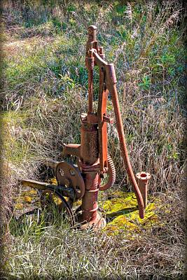 Photograph - Pump by Michaela Preston