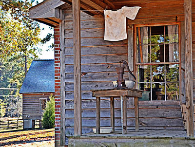 Photograph - Pump On The Porch by Linda Brown