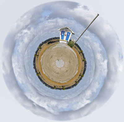 Photograph - Pump Station Wee Planet by Paulette B Wright