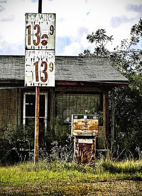 Premium Gas Photograph - Pumped by April Lee