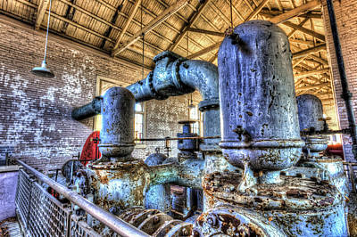 Pumping Station I Art Print