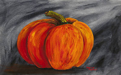 Painting - Pumpkin 2 by Darice Machel McGuire
